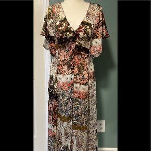 ZARA Z 1975 Denim Boho dress